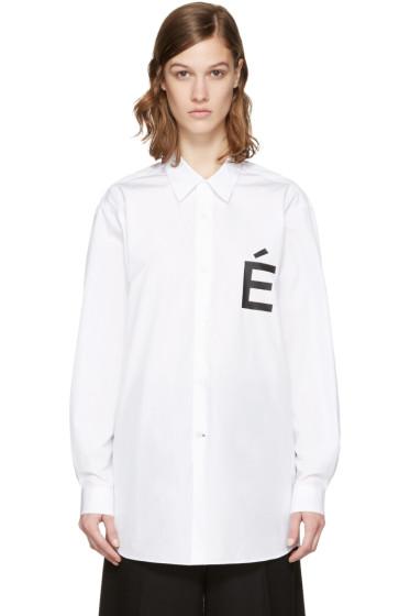 Etudes - White Ombre Shirt