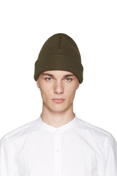 Etudes - Green Wool Beanie