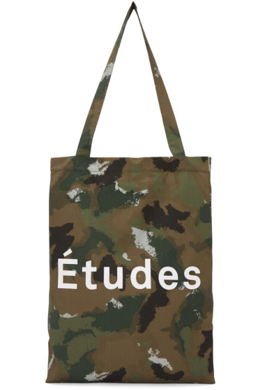 Etudes - Brown Camo October Tote