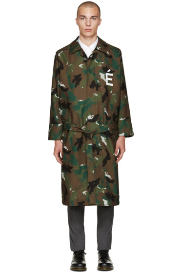 Etudes - Green Camo Quartet Coat