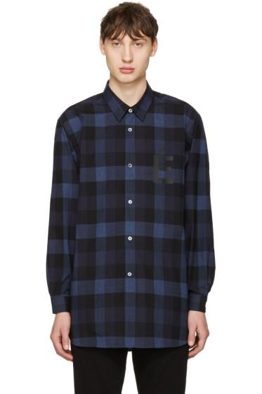 Etudes - Blue Ombre Plug Shirt