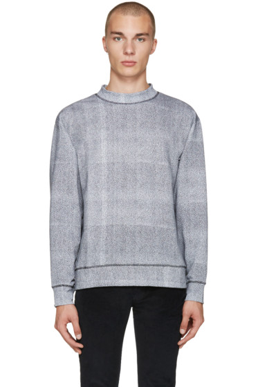 Etudes - Grey Mock Neck Pullover