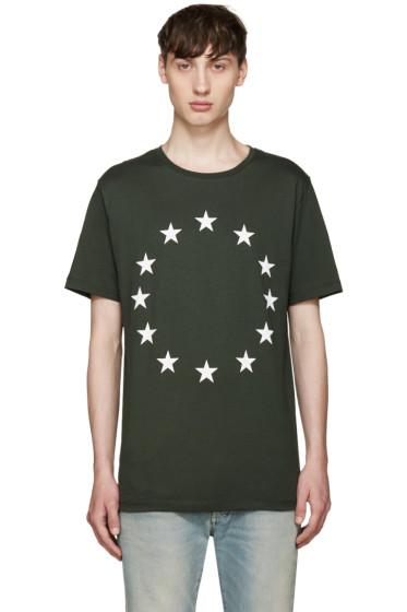 Etudes - Khaki Page Europa T-Shirt