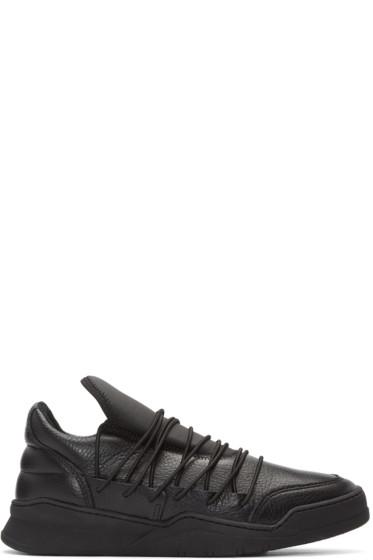 Filling Pieces - Black Lee Sneakers