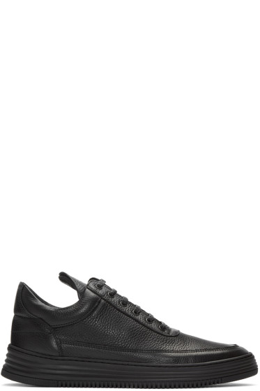Filling Pieces - Black Sock Wavy 3.0 Sneakers