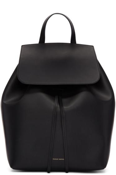 Mansur Gavriel - Black Leather Backpack