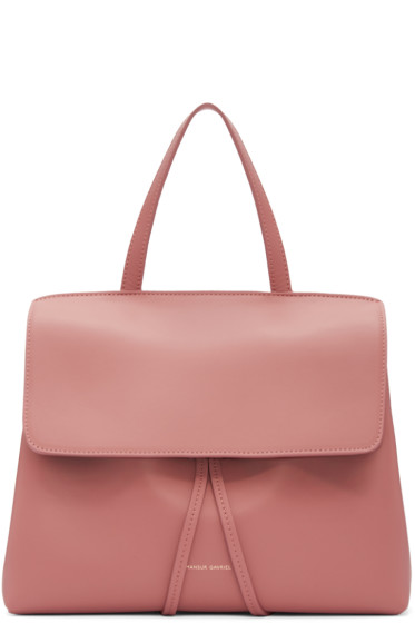 Mansur Gavriel - Pink Leather Mini Lady Bag