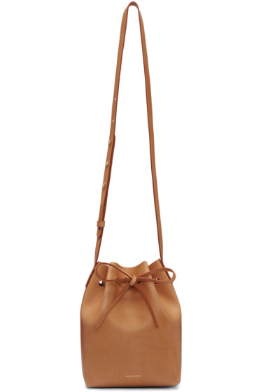 Mansur Gavriel - Tan Leather Mini Bucket Bag