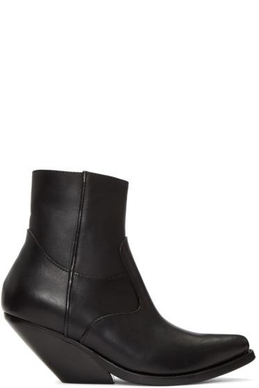 Vetements - Black Cowboy Boots
