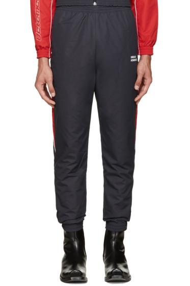 Vetements - Navy 'Unidad Hombres' Track Pants