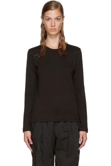 Comme des Garçons Comme des Garçons - Black Long Sleeve T-Shirt
