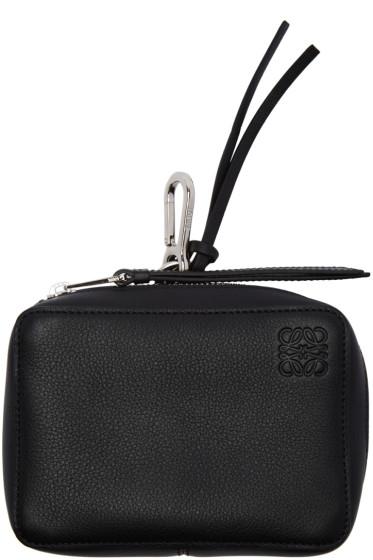 Loewe - Black Pocket Charm Keychain
