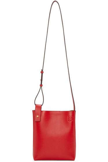 Loewe - Red Asymmetric Tote