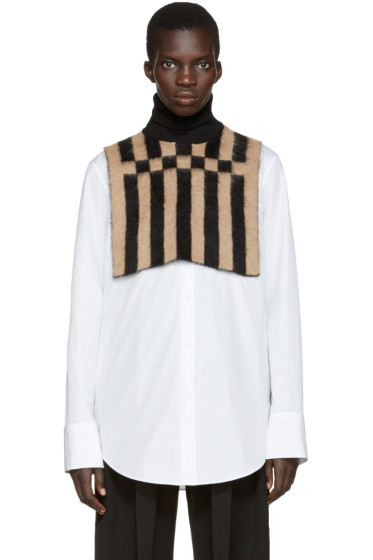 Loewe - Black & Tan Turtleneck Collar