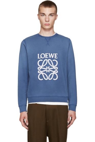 Loewe - Blue Logo Sweatshirt