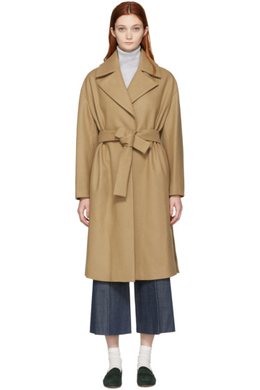 Harmony - Camel Belted Maggy Coat