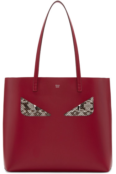 Fendi - Red Eyes Roll Tote