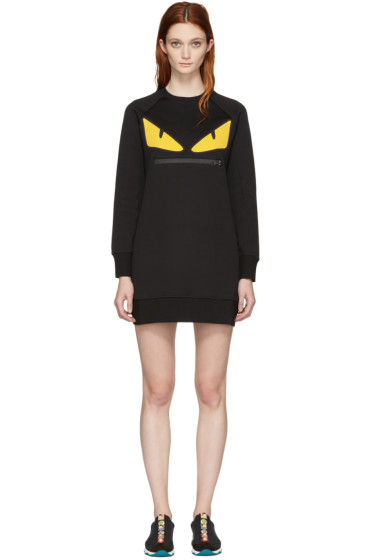 Fendi - Black Monster Eyes Pullover