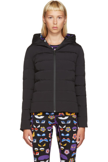 Fendi - Black Reversible Down Coat