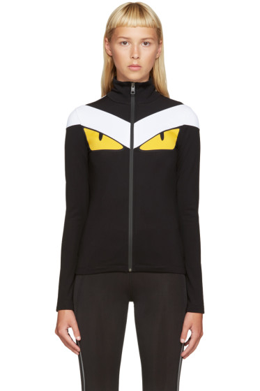 Fendi - Black Monster Track Jacket
