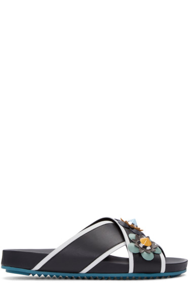 Fendi - Multicolor Flowerland Sandals