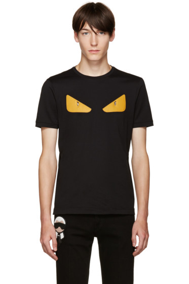 Fendi - Black Monster T-Shirt