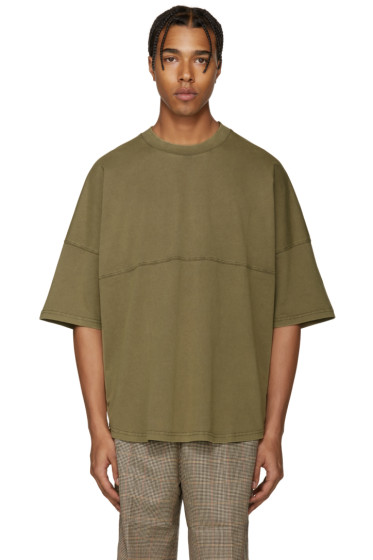 Palm Angels - Green Basic T-Shirt