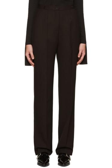 Aalto - Burgundy Suspender Trousers