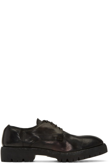 Guidi - Black Leather Derbys