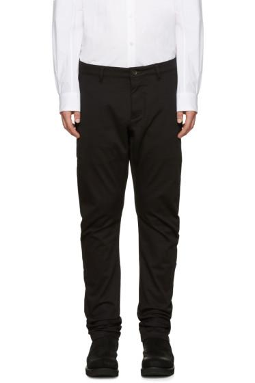 Attachment - Black Cotton Trousers