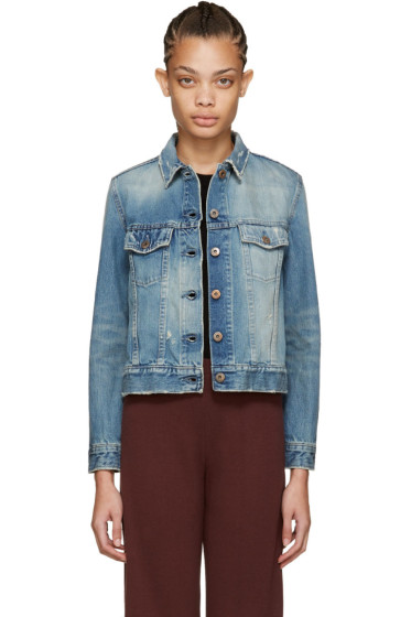 Simon Miller - Blue Denim Teda Jacket