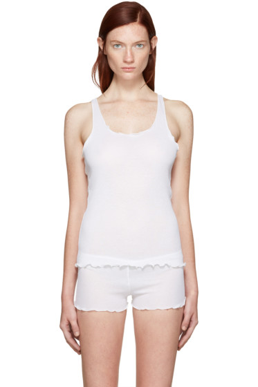 Araks - White Kinee Tank Top