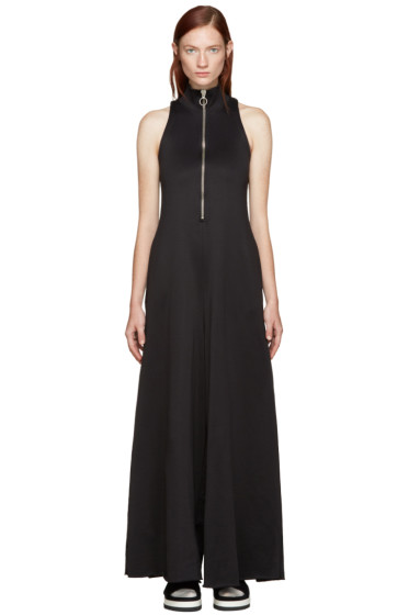 Marques Almeida - Black Mock Neck Jumpsuit