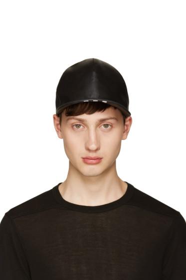 NILøS - Black Lambskin Cap