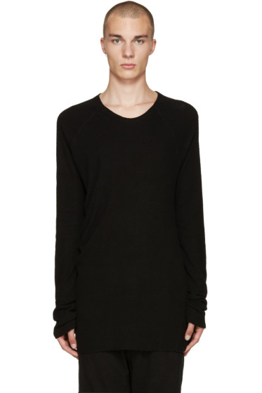 NILøS - Black Raglan T-Shirt