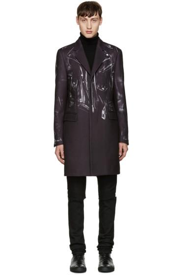 Moschino - Black Trompe L'Oeil Coat