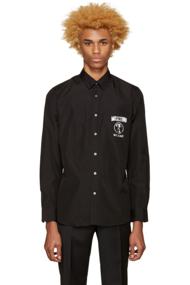 Moschino - Black Logo Shirt