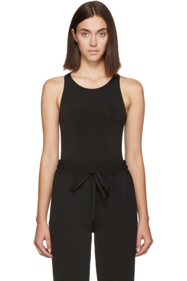 Atea Oceanie - Black Sleeveless Bodysuit