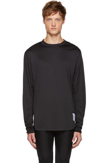 Satisfy - Black Lightweight T-Shirt