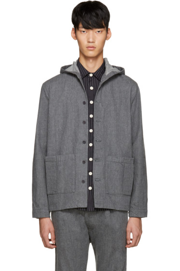 Sunnei - Grey Selvedge Denim Jacket