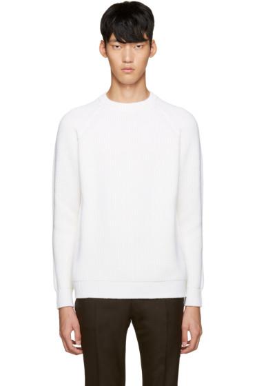 Sunnei - Ivory Wool Sweater