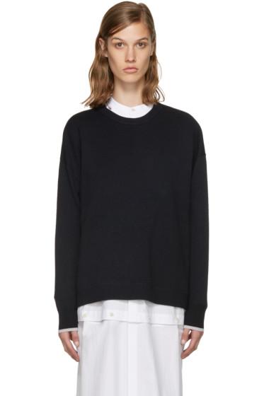 Enfold - Navy Wool Sweater