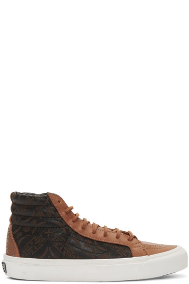 Vans - Brown Taka Hayashi Edition OG SK8-HI LX Sneakers