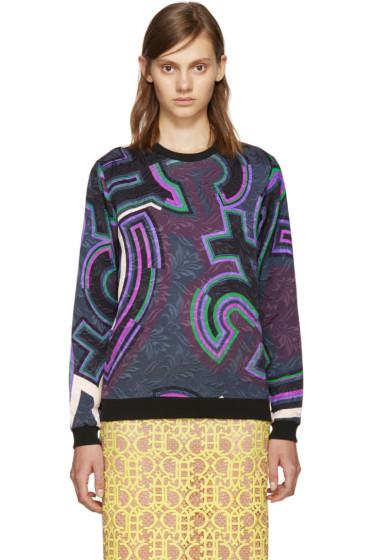 Emilio Pucci - Multicolor Graphic Pullover