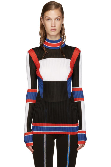 Emilio Pucci - Multicolor Mock Neck Top