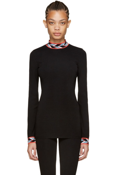 Emilio Pucci - Black Iconic Turtleneck