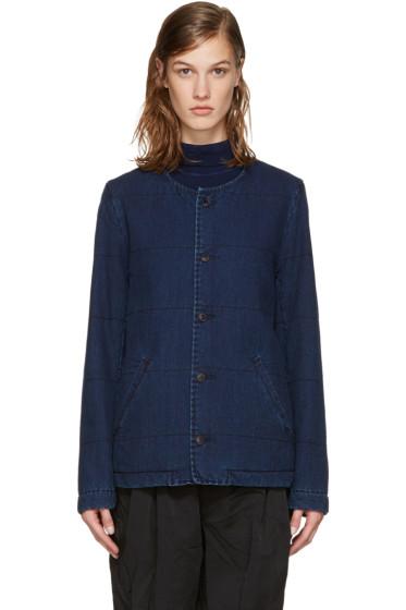 Blue Blue Japan - Indigo Denim Filled Jacket