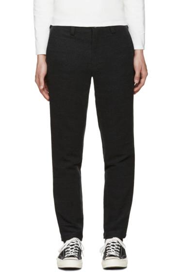 Blue Blue Japan - Grey Wool Trousers