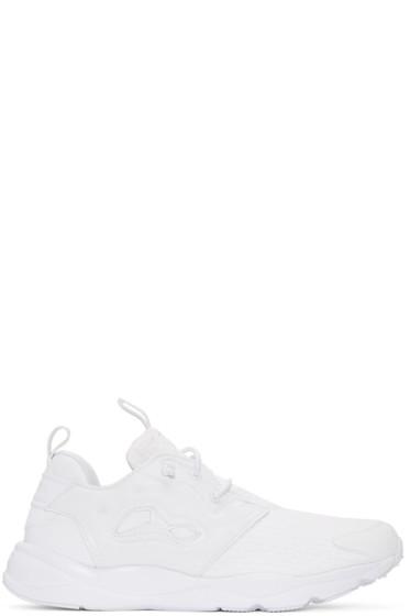 Reebok Classics - White Furylite Sneakers