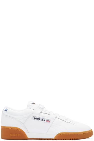 Reebok Classics - White Workout Sneakers